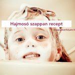 Hajmosó szappan recept